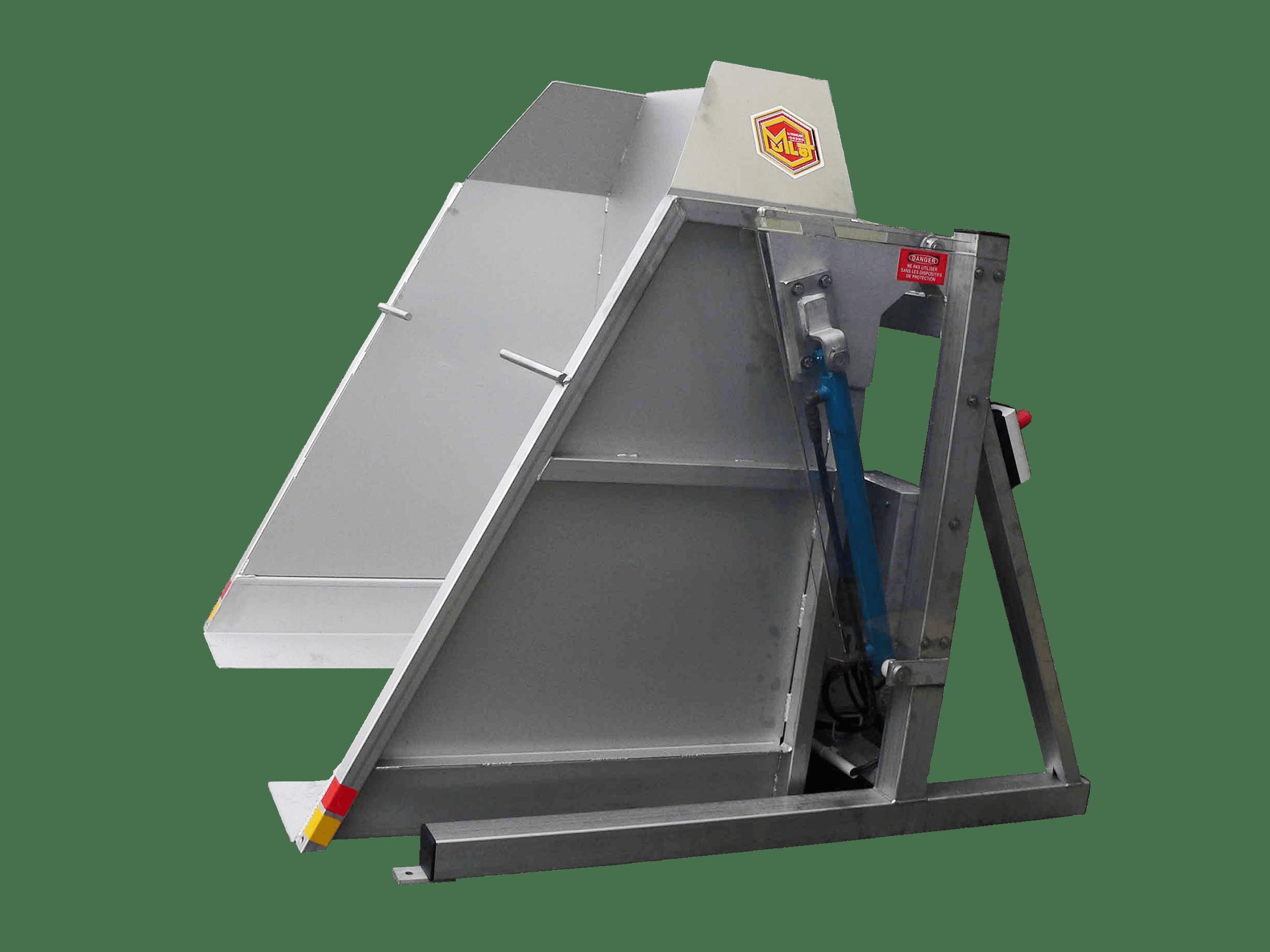 Caisse De Pomme Vide vide palox - matériel pour fruits et légumes - mulot agro